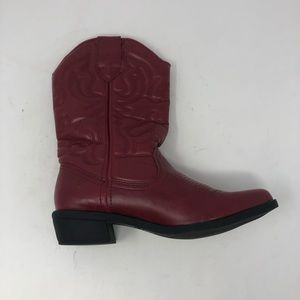 Rampage Red Cowboy Boot